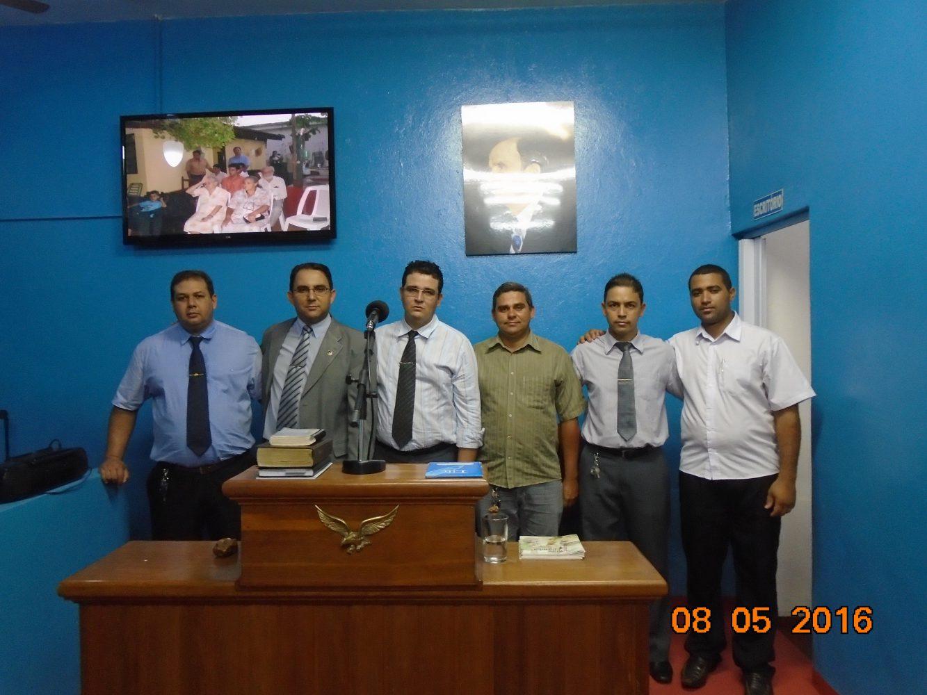 Pr. Yendis e irmãos - Comemoração 10 anos de ministério em Ituiutaba-MG